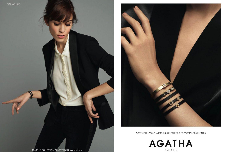 Collection Agat'You x Alexa Chung