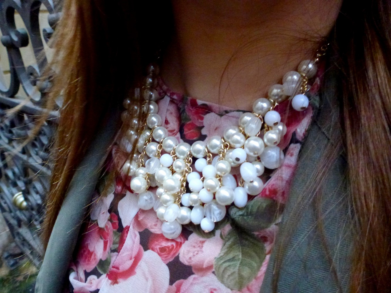 collier à perles forever21