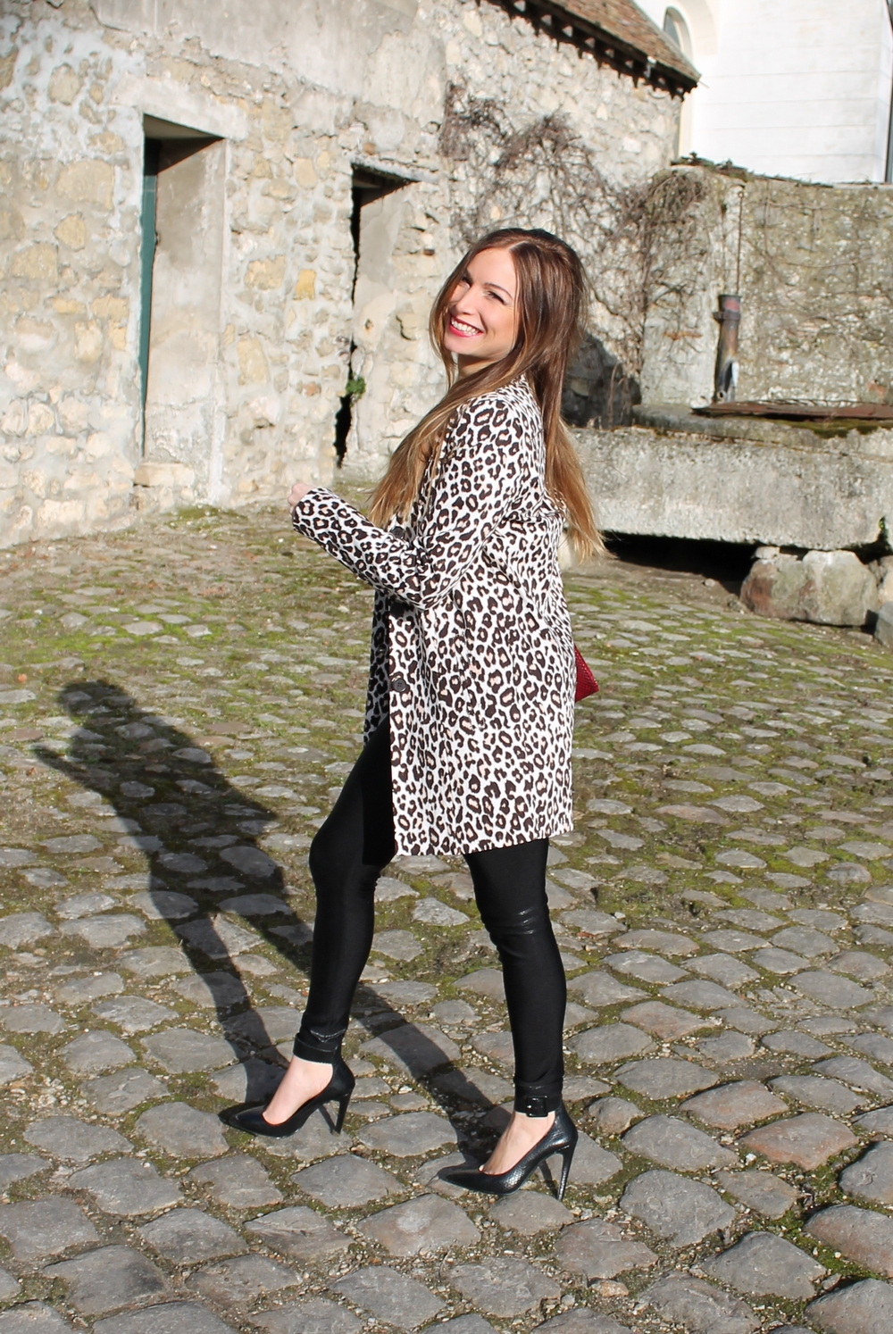 la minute fashion melody leopard in the city
