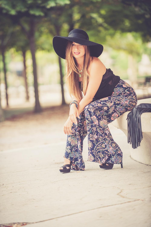 capeline h&m chapeau fedora bord large en feutrine blog mode