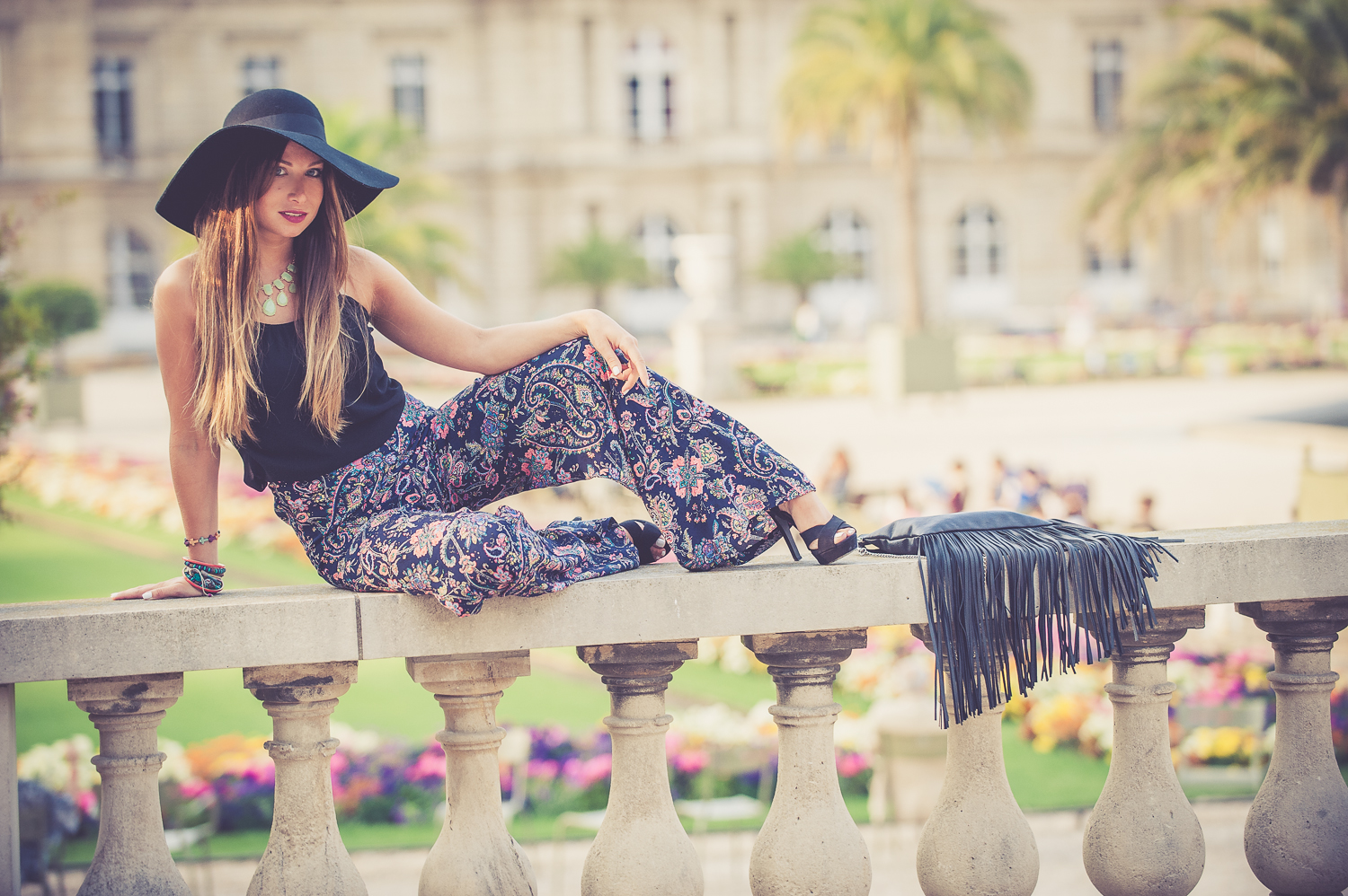 palazzo pant blog mode fashion look seventies