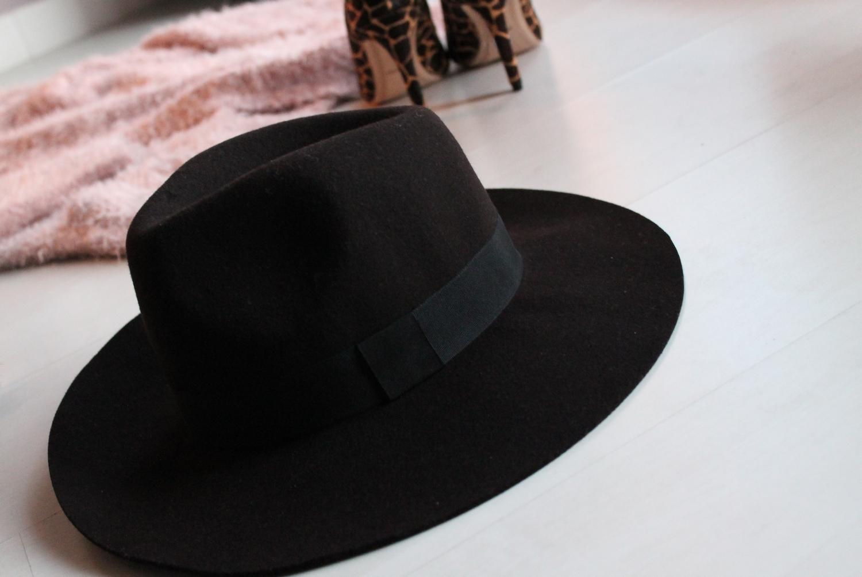chapeau fedora brun forever21