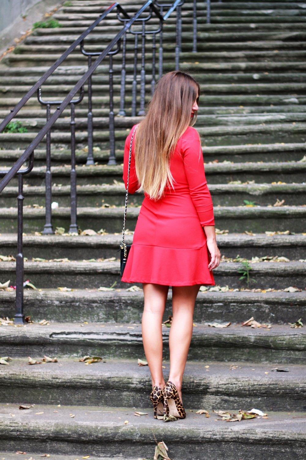 robe a corolle rouge