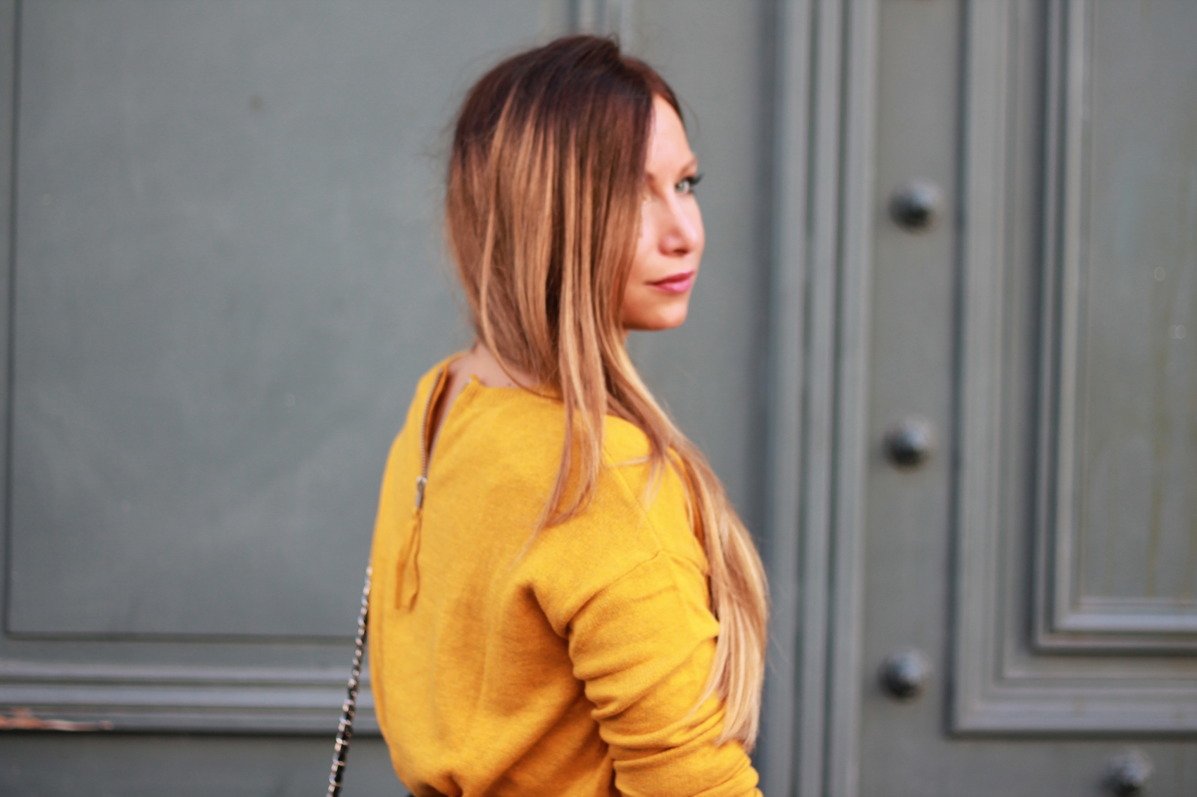pull jaune moutarde h&m nouvelle collection