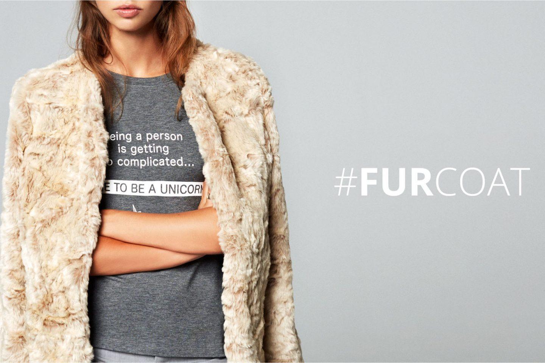 86992b000 Comment porter la fausse fourrure ? How to wear the fur coat ? | My Blog