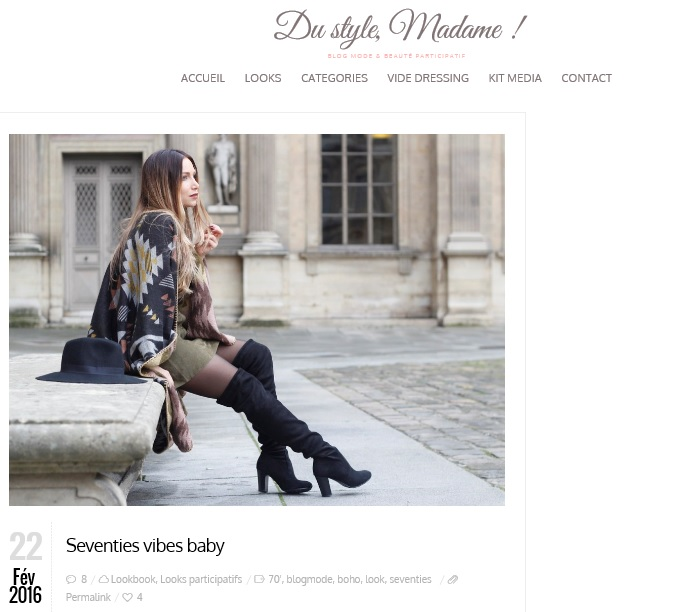 la minute fashion x du style madame