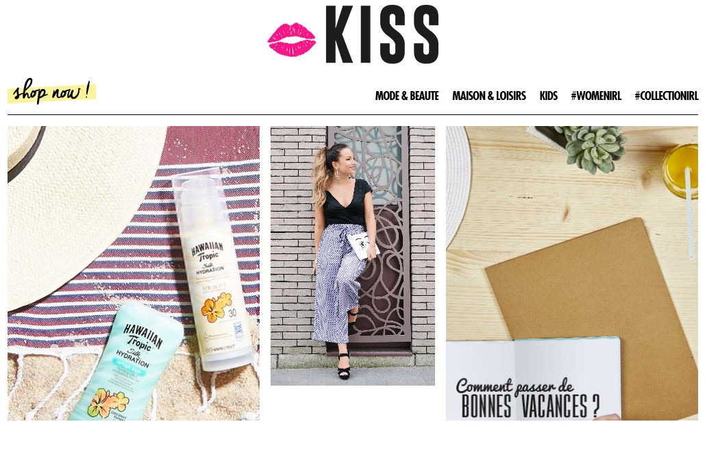 parution blog kiss showroomprive juillet 2016