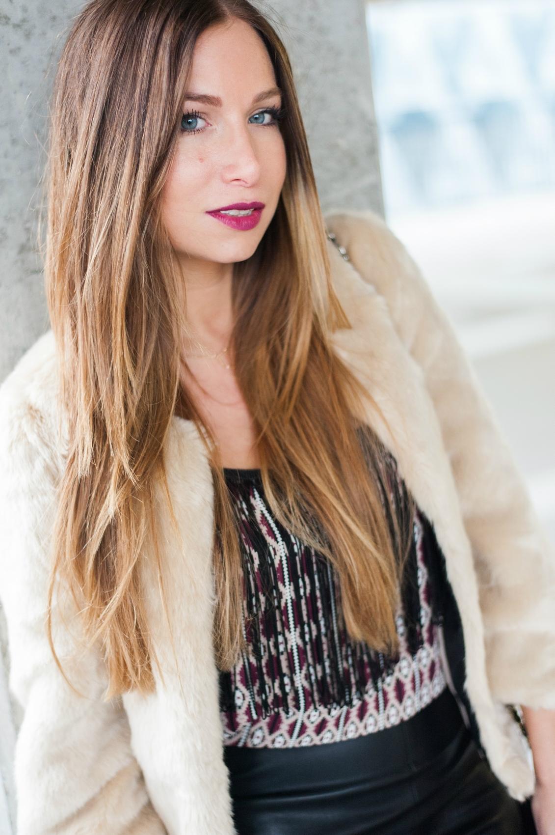style boho fashion blog chery sephora lipstick