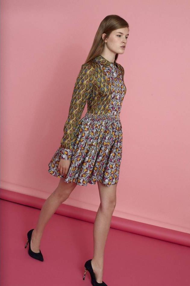robe imprimé seventies manoush printemps été 2015