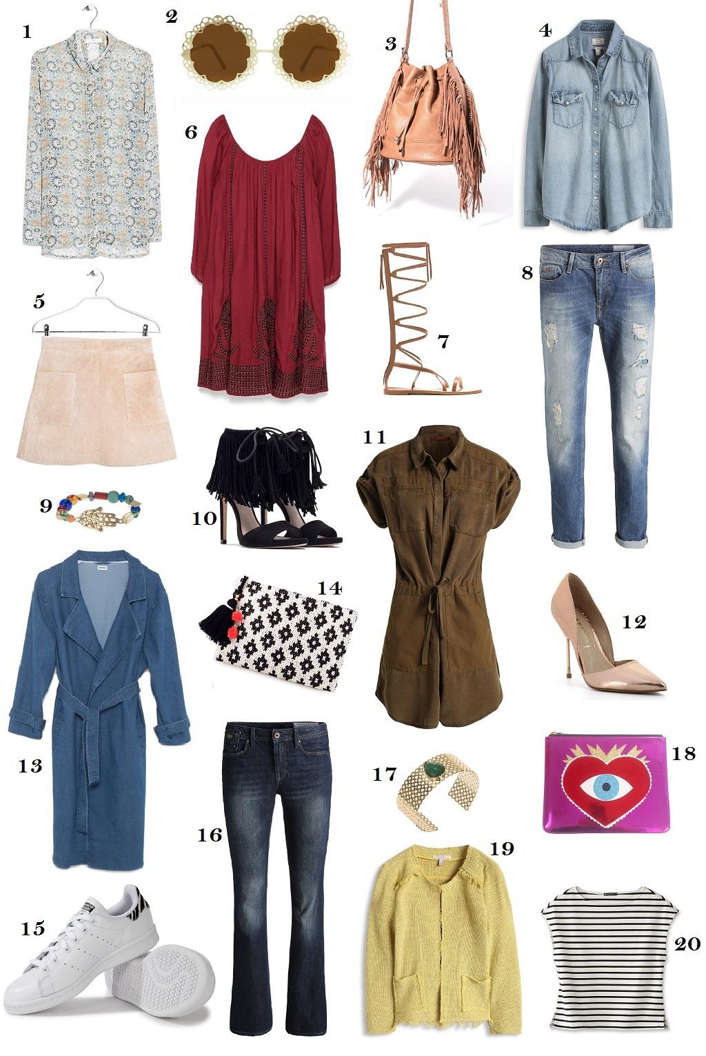 must have printemps été 2015 tendance mode fashion blog