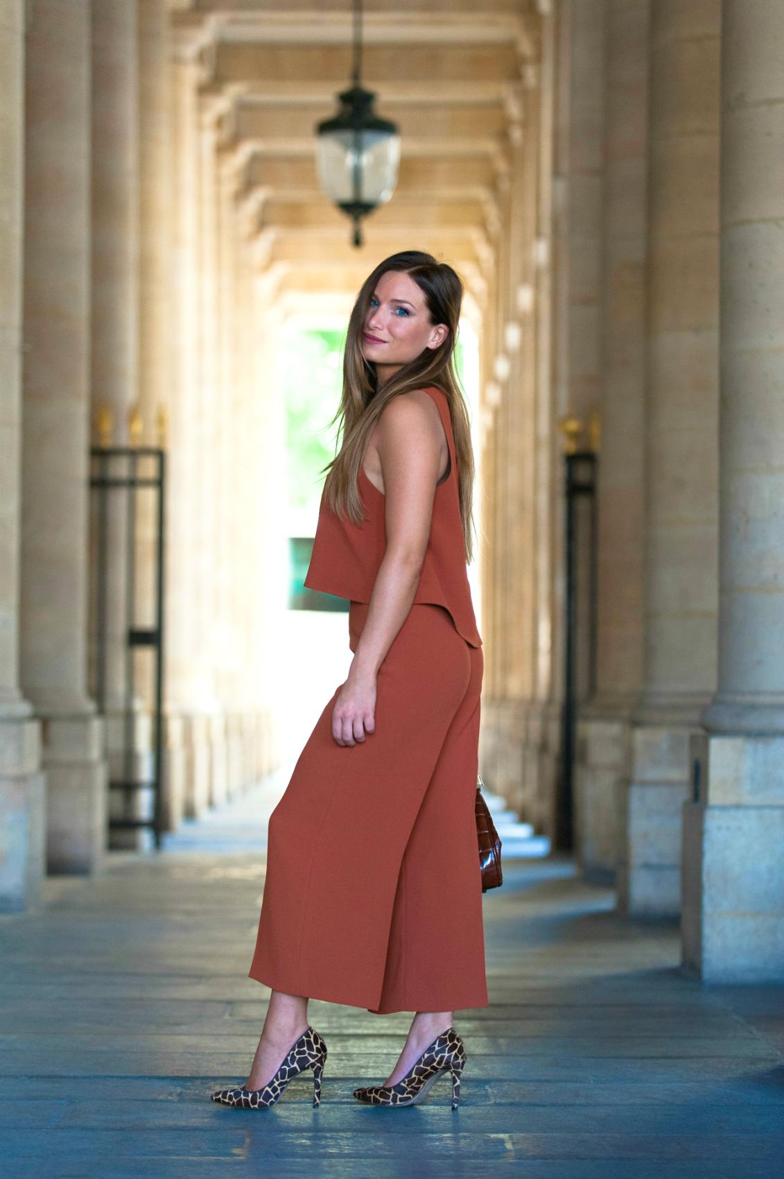 comment porter le pantalon palazzo tendance jupe culotte
