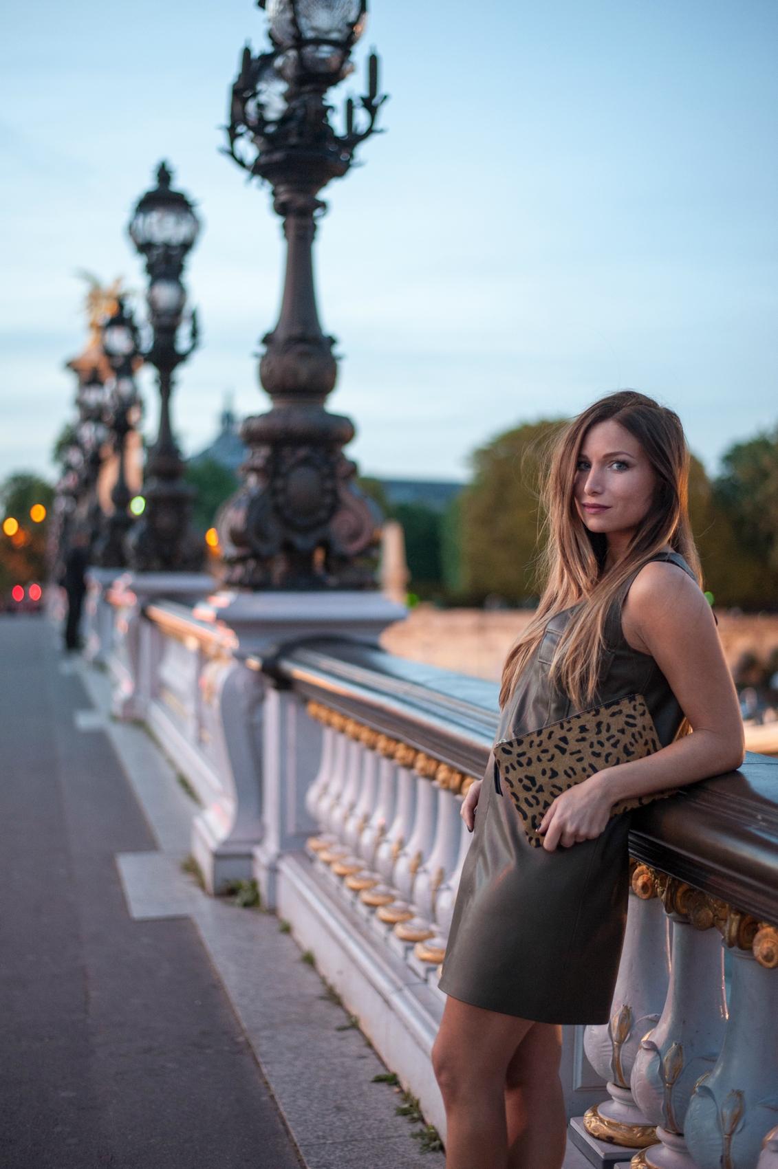 shooting pont alexandre III blog mode paris la minute fashion
