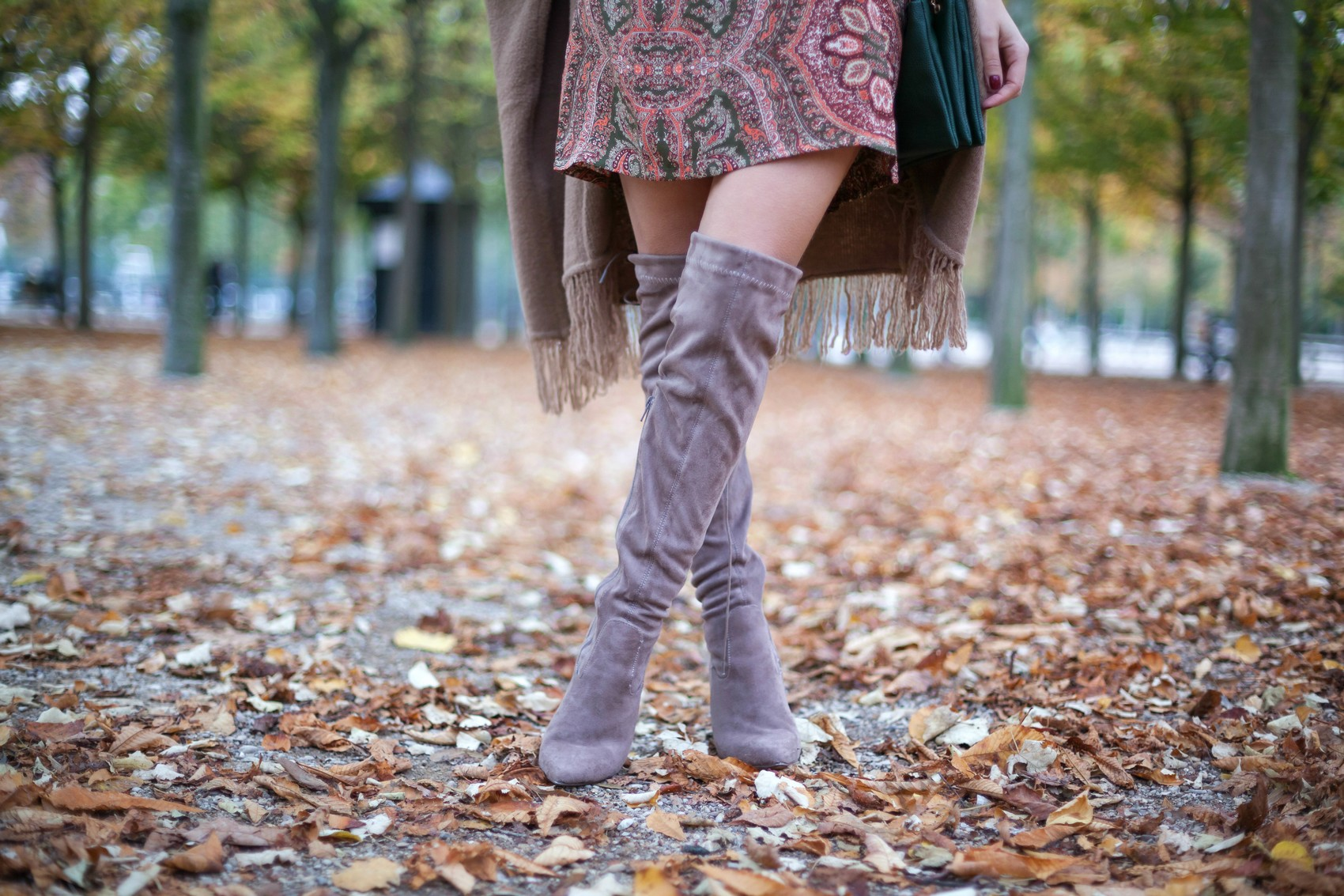 cuissardes taupe boohoo over the knee boots