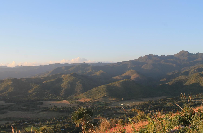 cerro de la viga landscape amazing view trinidad cuba