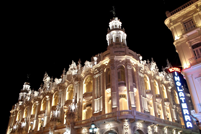 hotel inglaterra parque central cuba habana - Copie
