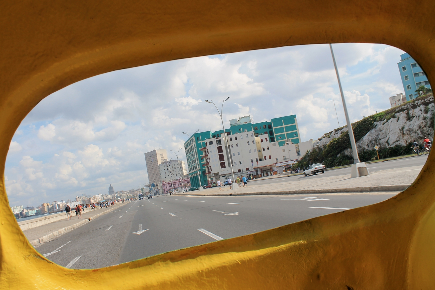 view from coco taxi cuba