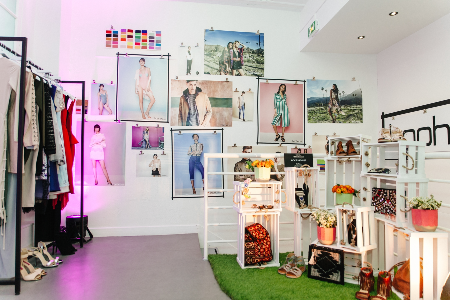 pop up store boohoo paris