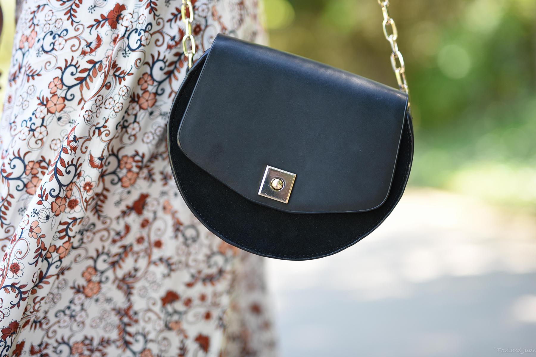 mini sac sac bi matière noir