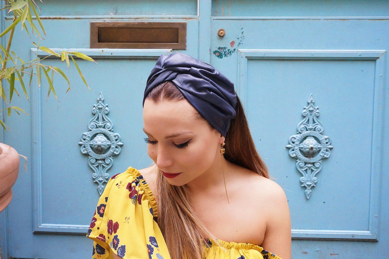choisir le dernier qualité de la marque beau look Le turban pour les nuls... La Minute Fashion x Indira De ...