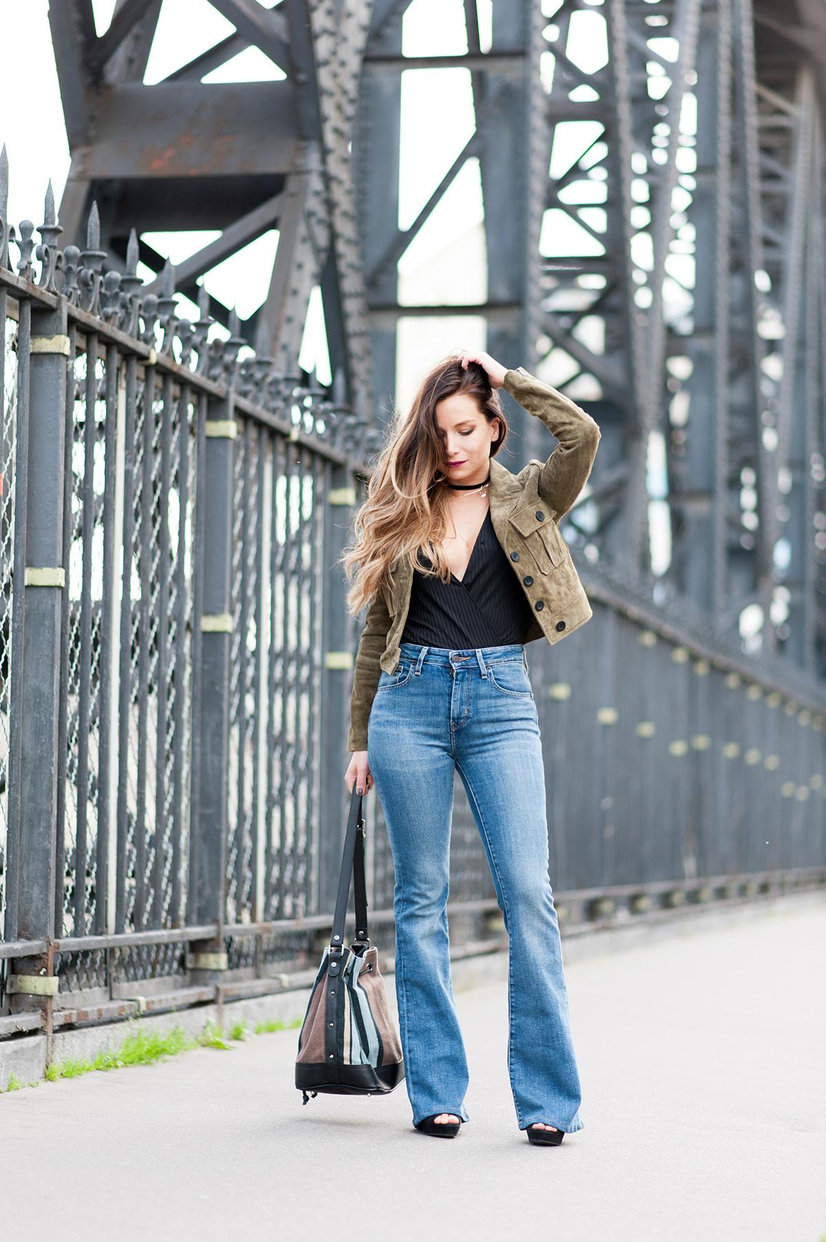 comment porter le jean pattes d'ef