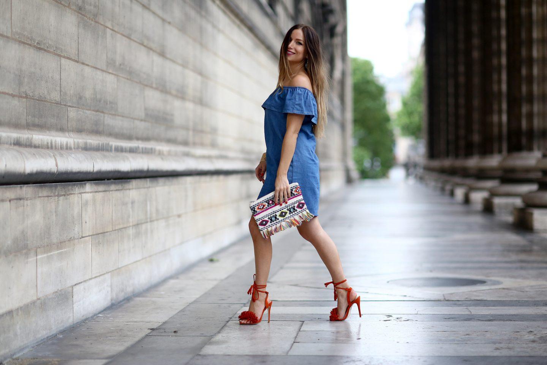 La robe épaules dénudées, comment la porter     My Blog 57a3a01a3692