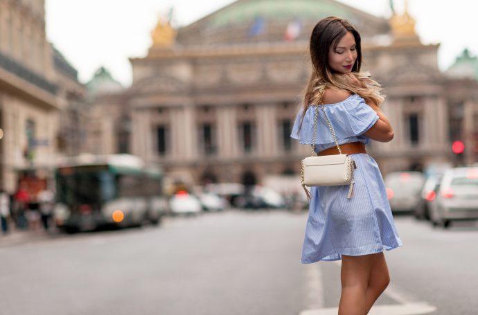 comment porter la robe épaules dénudées