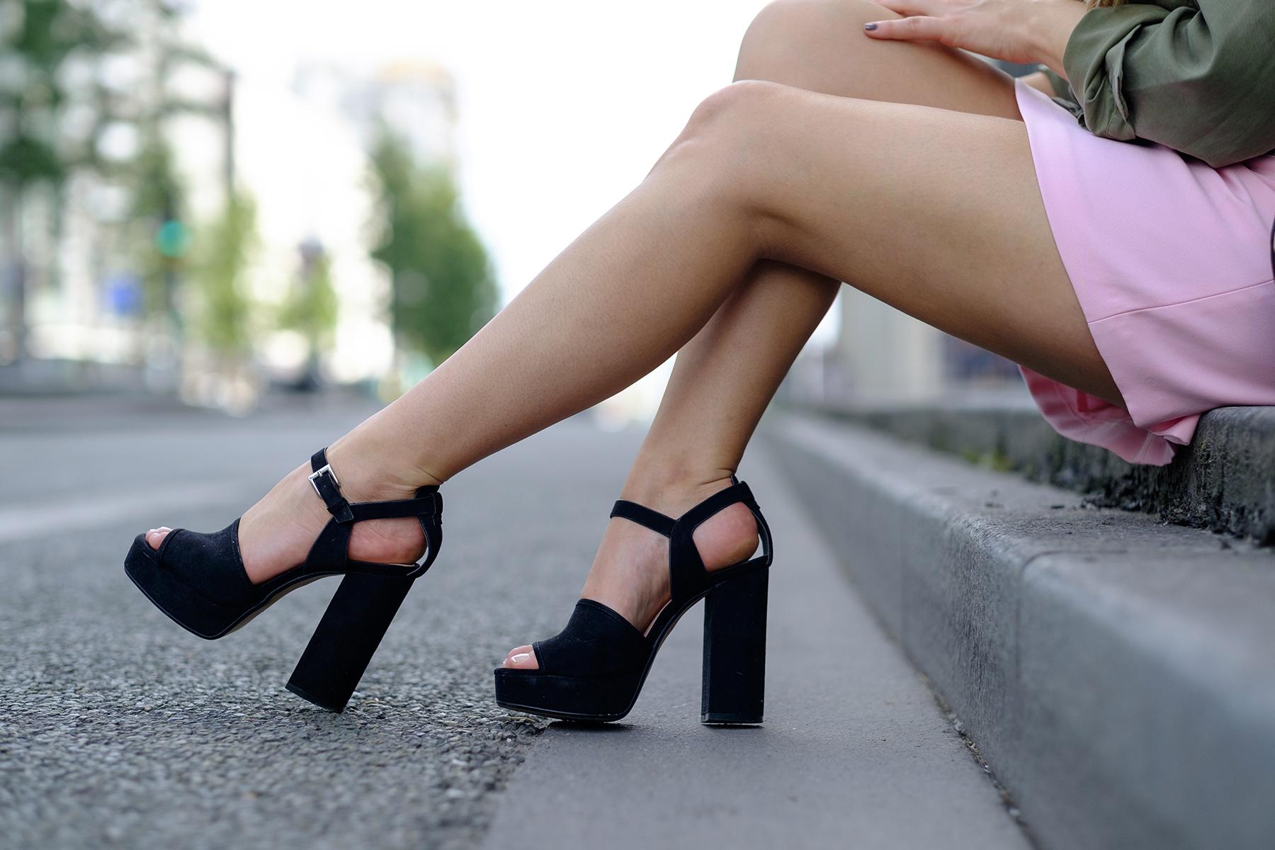 sandales talon bloc zara plateforme