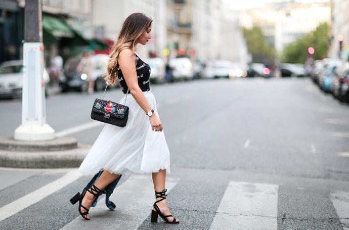 comment porter la jupe en tulle blog mode slider