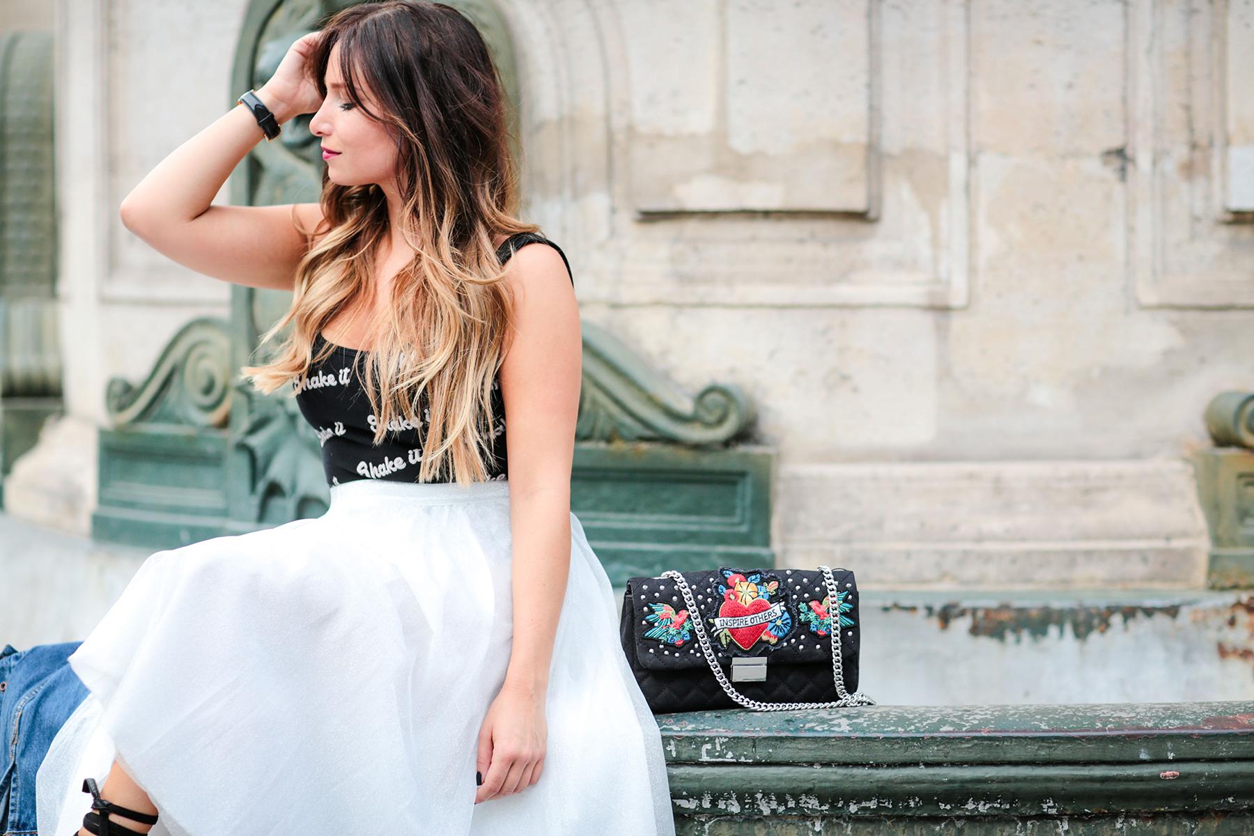 shooting paris fashion blogger