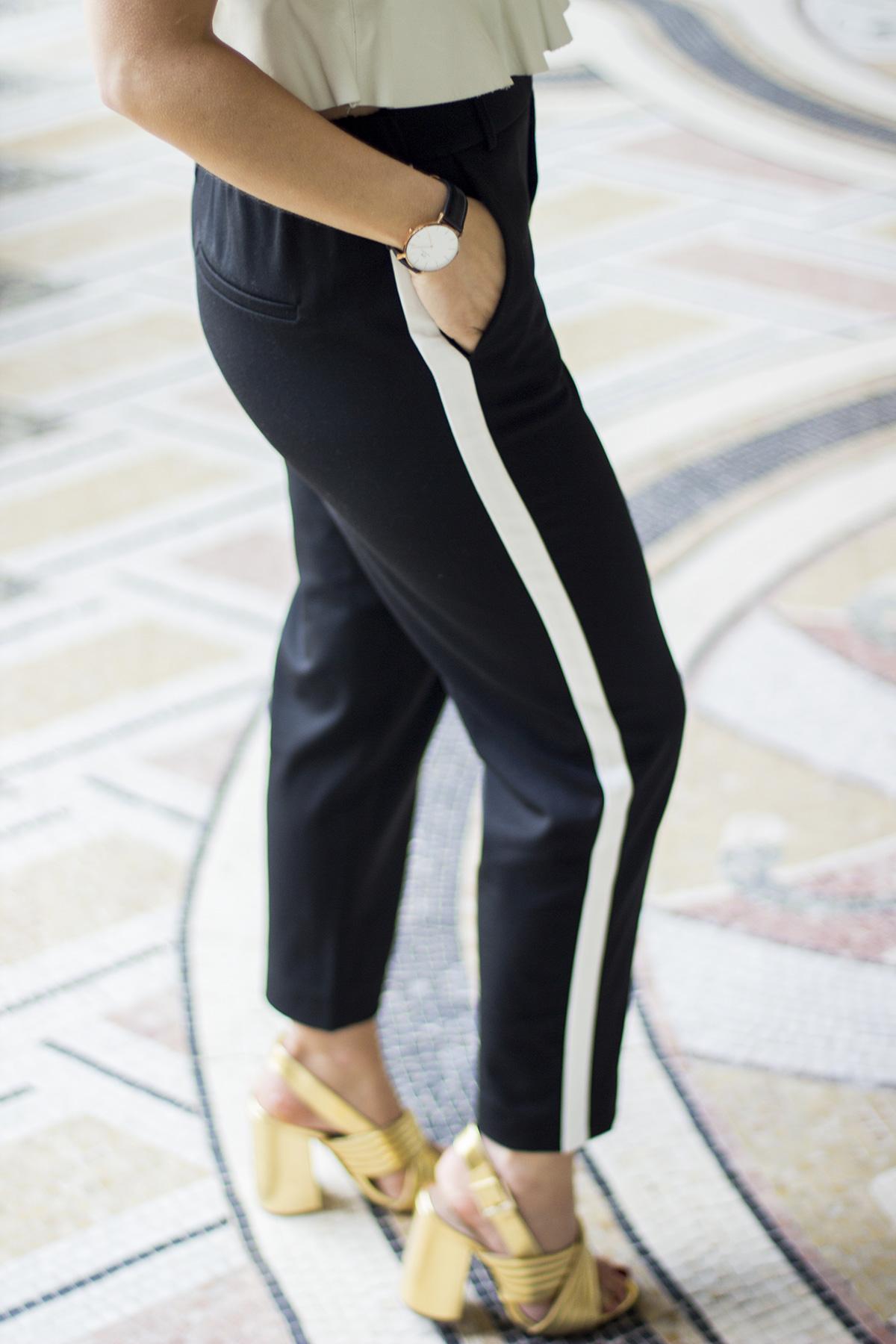 comment porter le jogging bandes la minute fashion. Black Bedroom Furniture Sets. Home Design Ideas