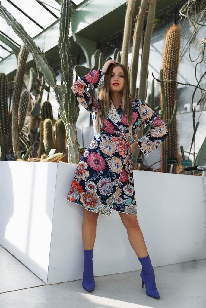 Ma robe kimono </br>à fleurs