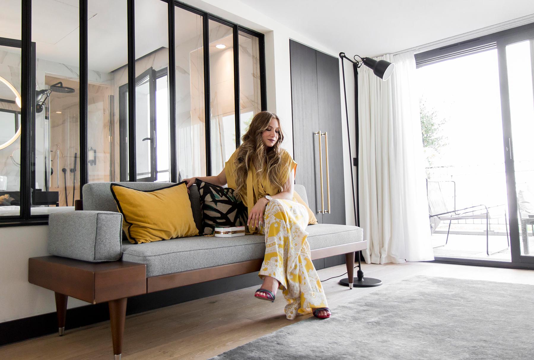 mon total look jaune la minute fashion. Black Bedroom Furniture Sets. Home Design Ideas