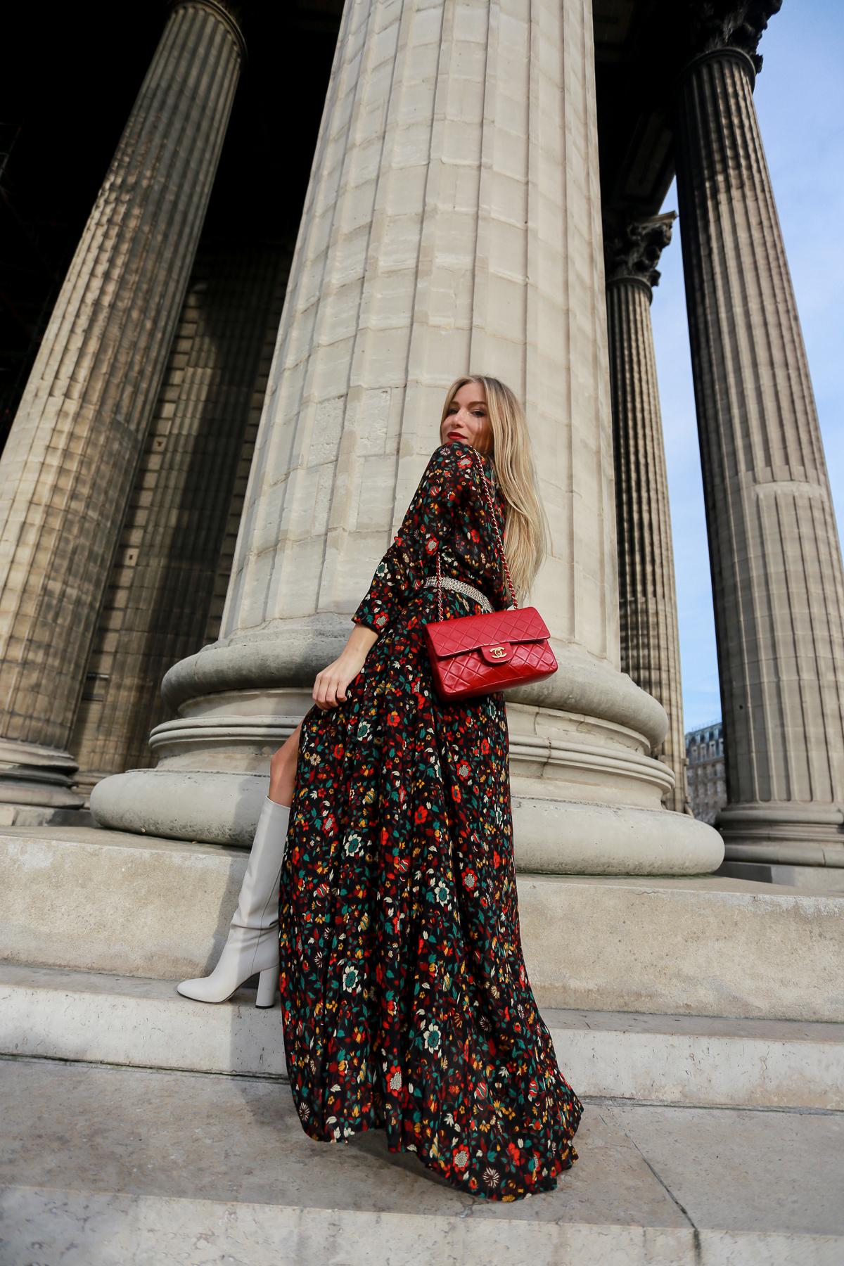 Comment porter la robe longue en hiver ?