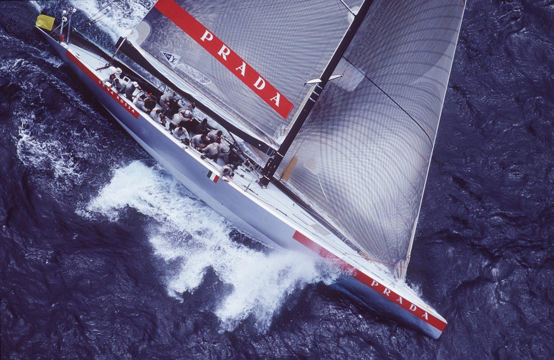 Collection capsule North Sails  x Prada créée à partir de matériaux recyclés