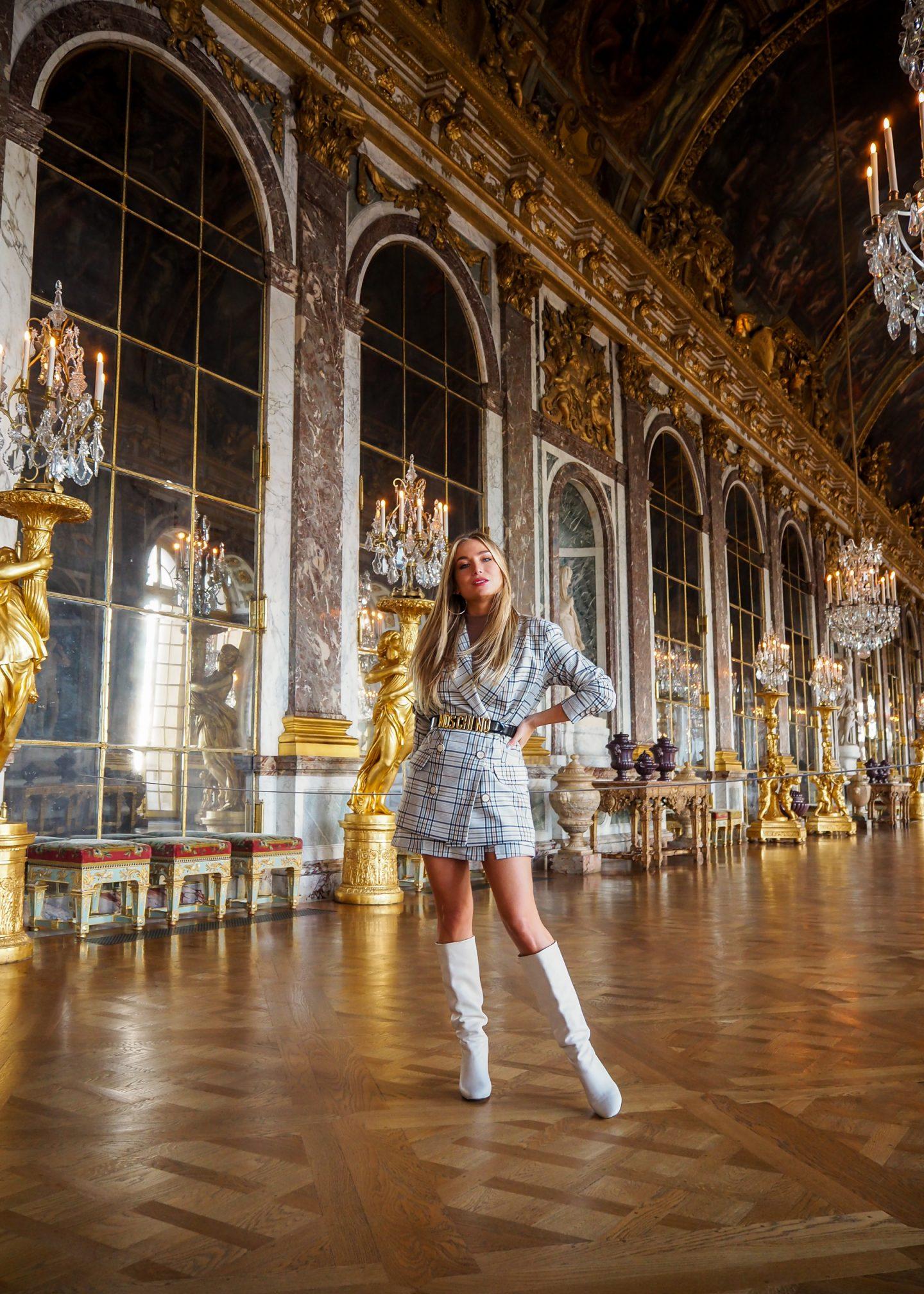A day in Versailles ! L'imprimé Prince de Galles