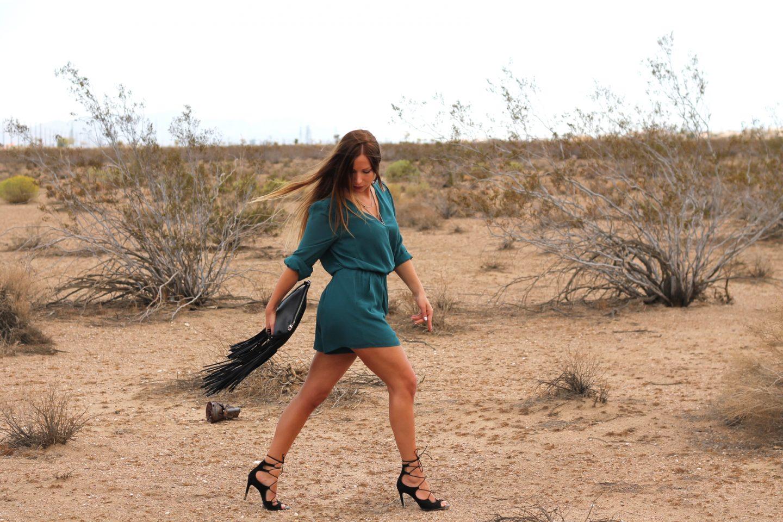 Desert Road – On the way to Vegas…