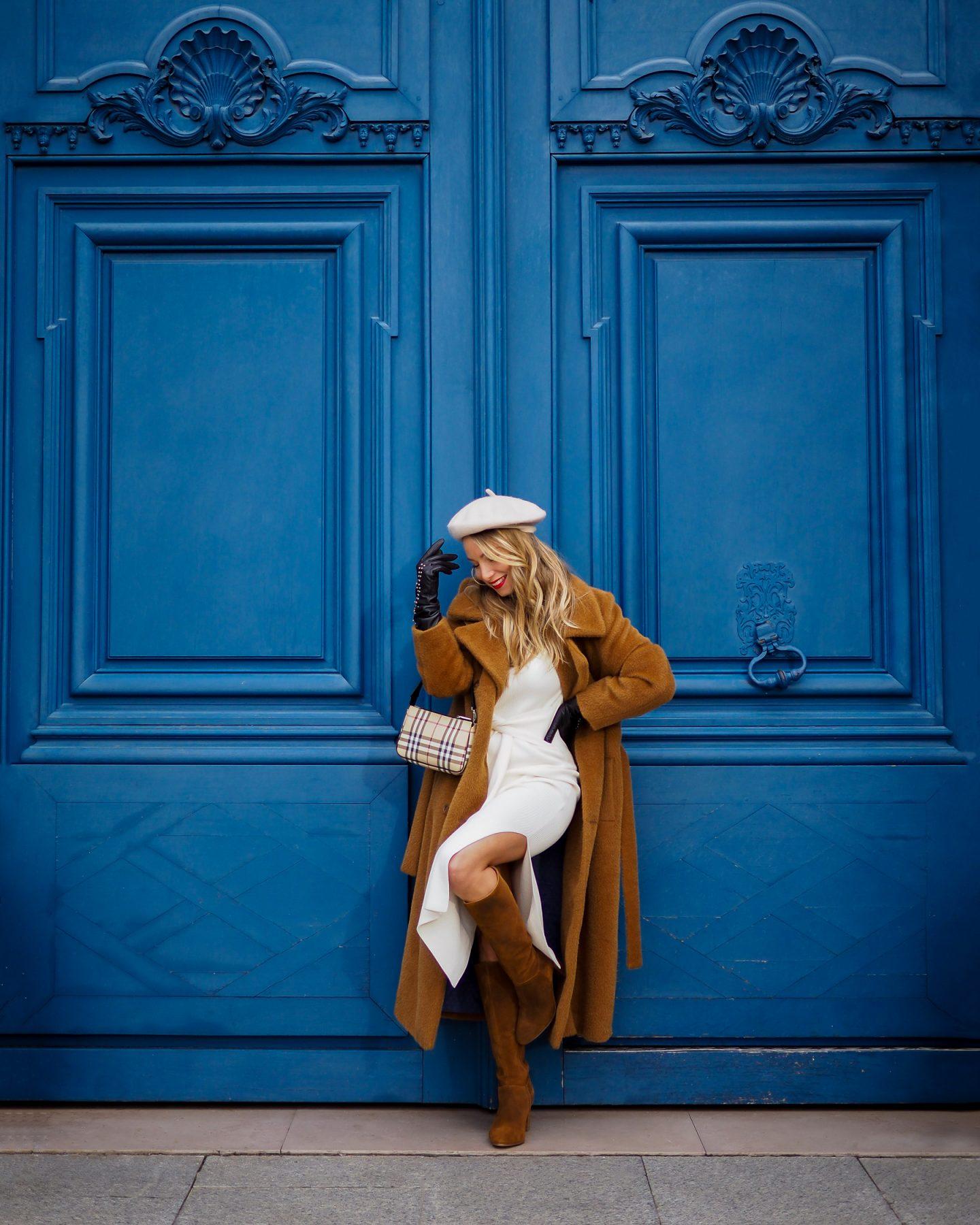 Blanc & camel : ce combo de couleurs qui réveille votre hiver !