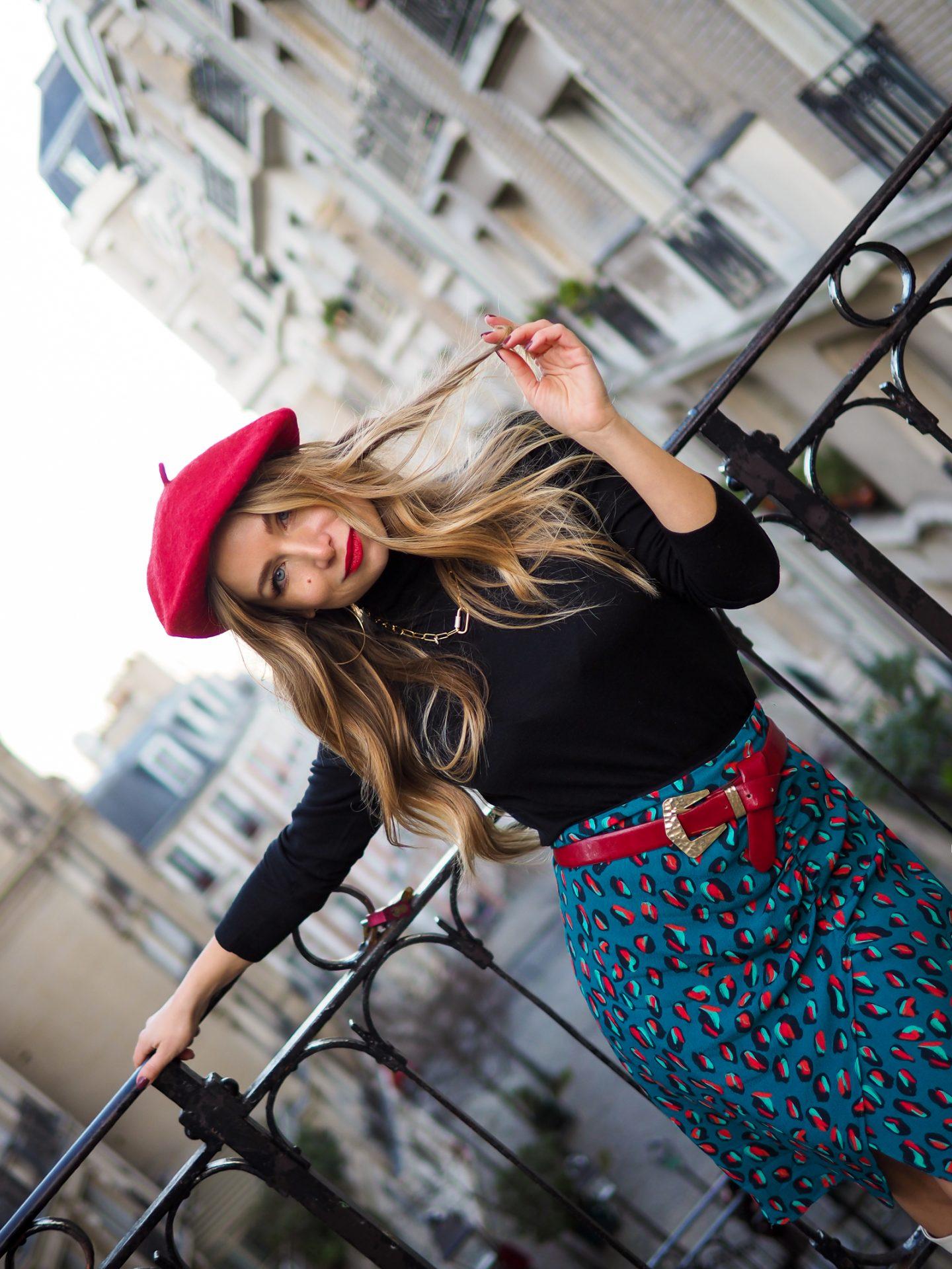 Look parisienne d'inspiration «Emily In paris»